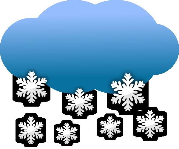 Snow Clouds Clip Art At Clker Com Vector Clip Art Online Royalty