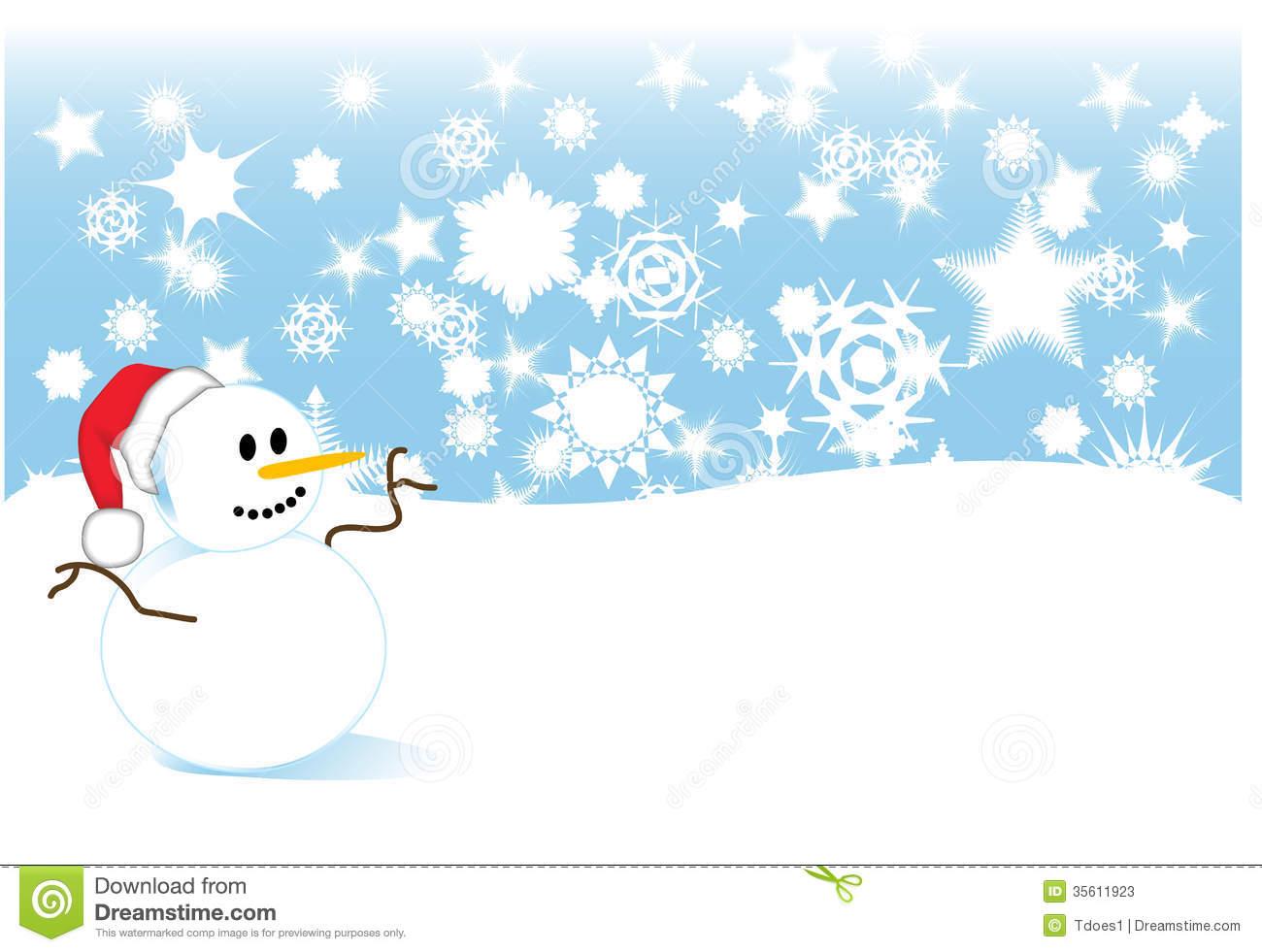 Snow Storm Clip Art Snowman In Snowstorm