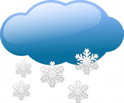 Snow storm symbols clip art Free vector for free download about