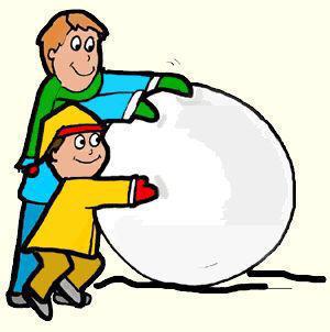 snowball clipart