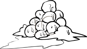 Snowball Clip Art