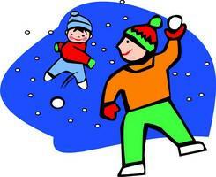 Snowball cliparts