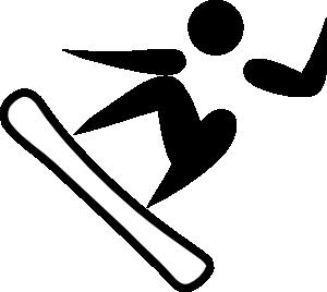 snowboard clipart
