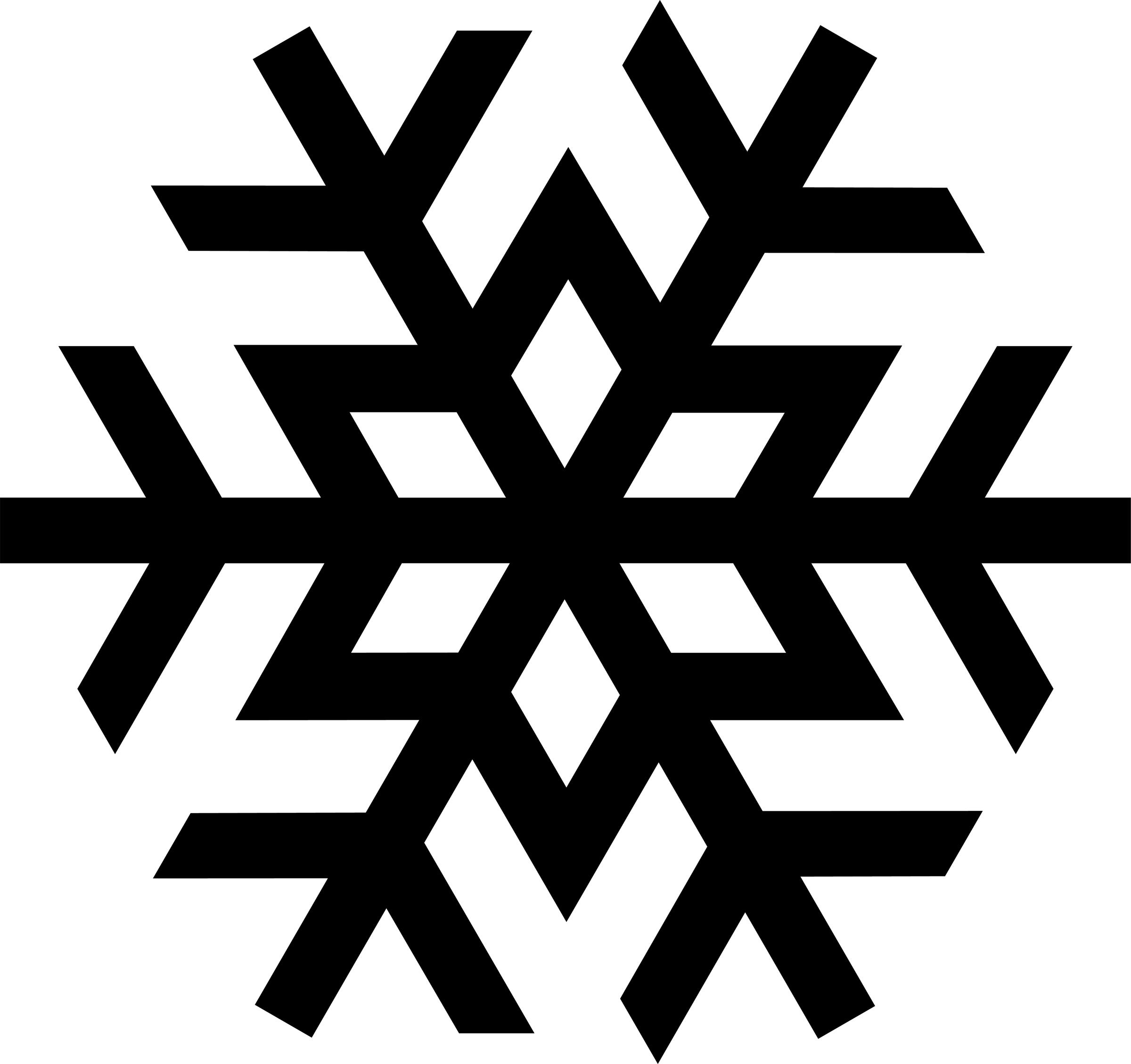 Snowflake Clip Art Image - Snowflake Clip Art