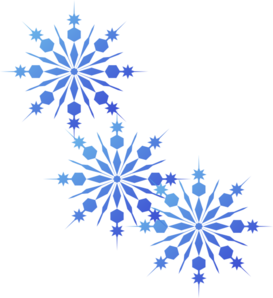 Snowflakes Blue Clip Art At Clker Com Vector Clip Art Online