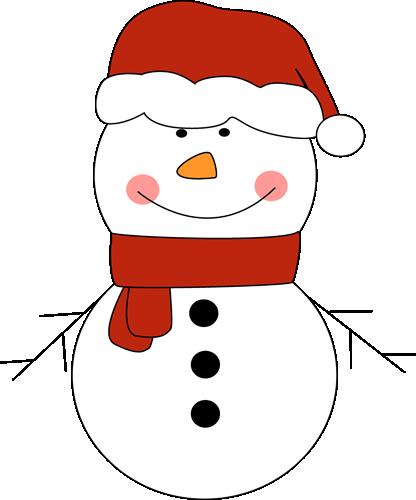 snowman top hat clipart