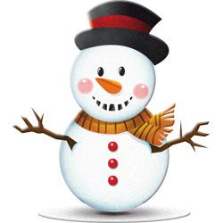 Snowman christmas .