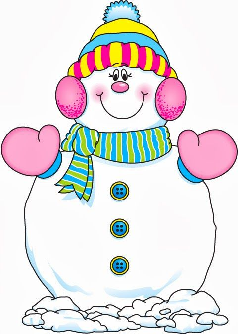 *SNOWMAN ~ CLIP ART 40 - Betiana 3 - Picasa Web Albums