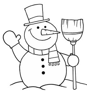 Snowman Clip Art Images Snowman Stock Photos Clipart Snowman