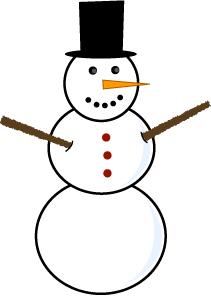 Snowman Clipart-Clipartlook.com-211