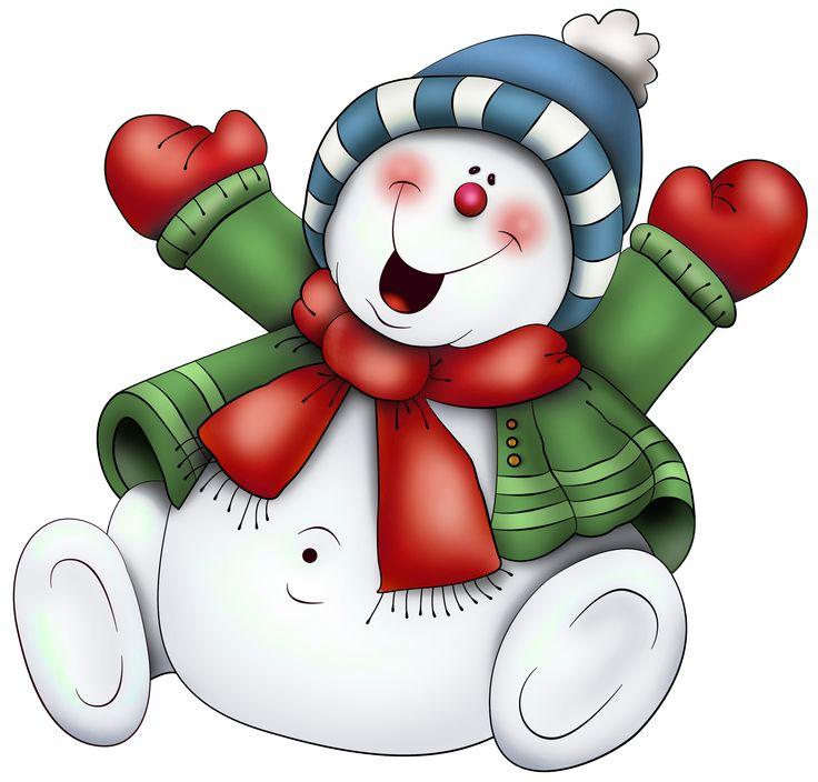 christmas-snowman-clipart-1