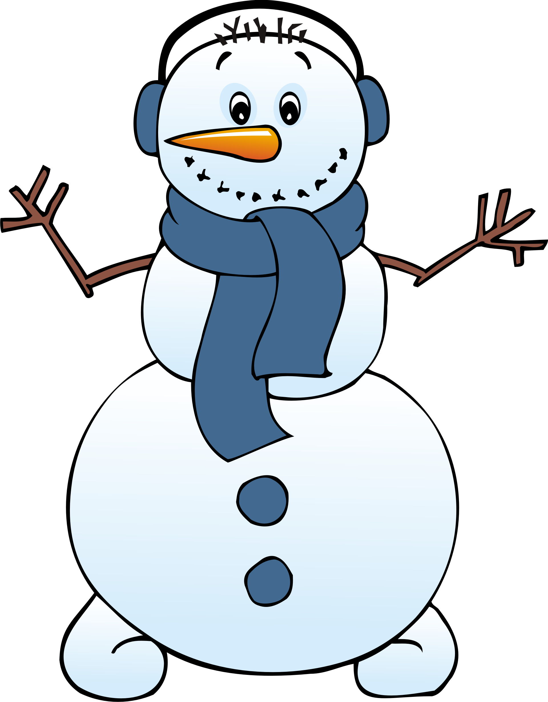 Cute Snowman Clip Art   free snowman clipart . Free cliparts that you can  download to you .