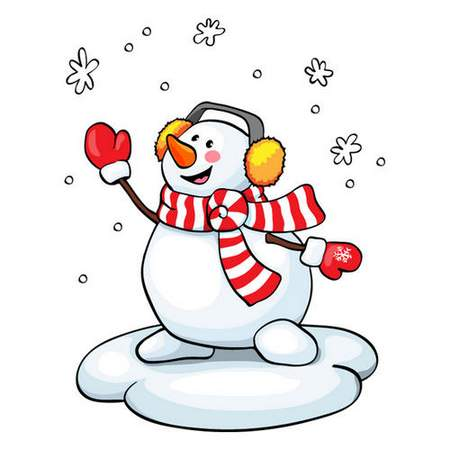Free Snowman clipart psd free download