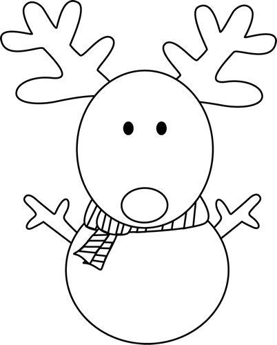 snowman outline - Google Search