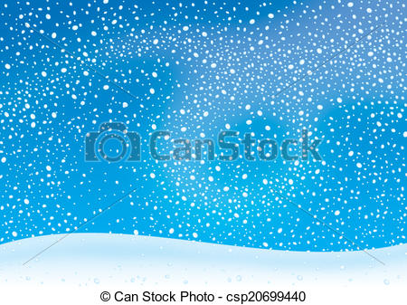 ... Snowstorm - winter background with snowstorm and snowdrift