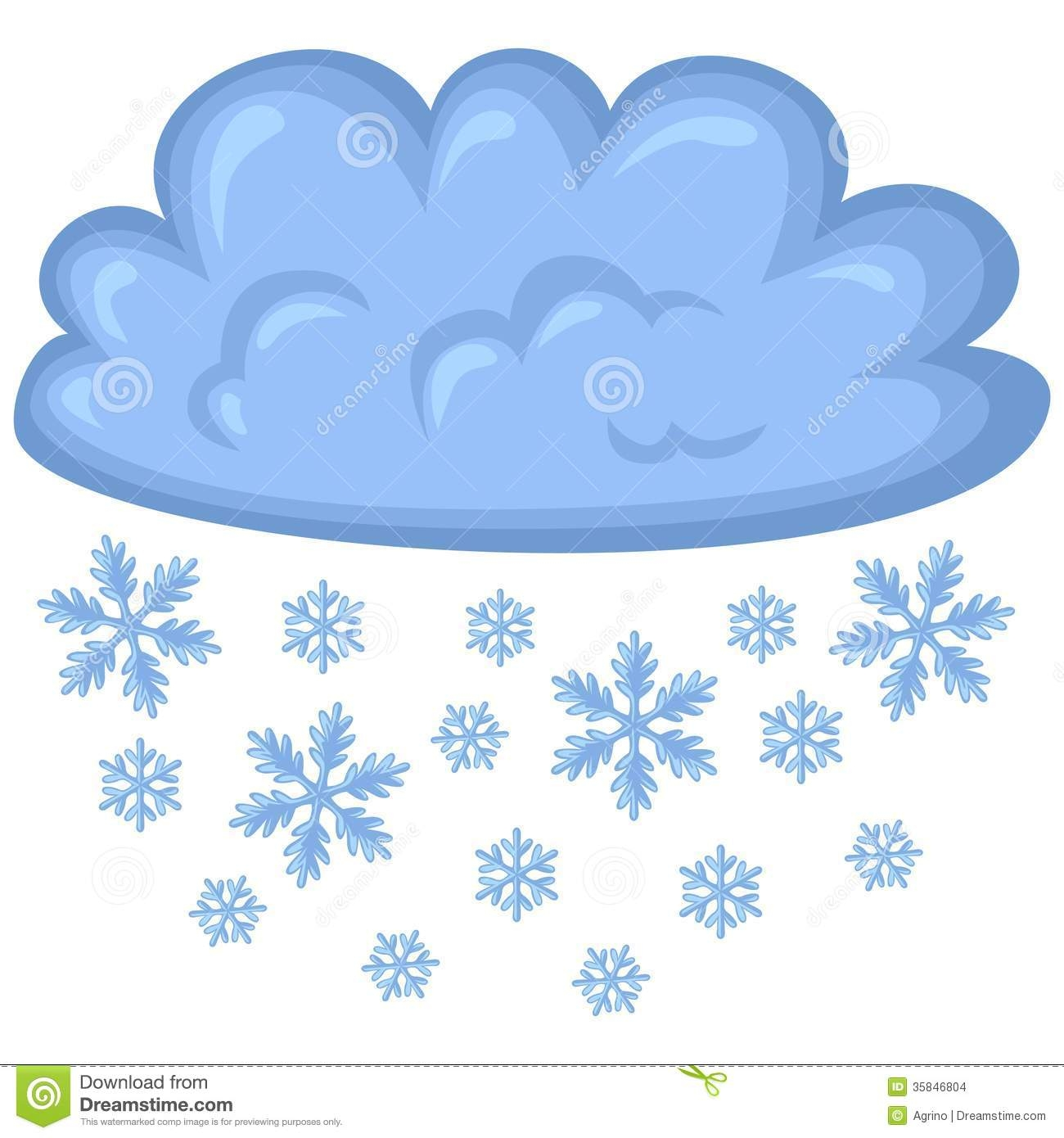 Season clipart snowy day #1