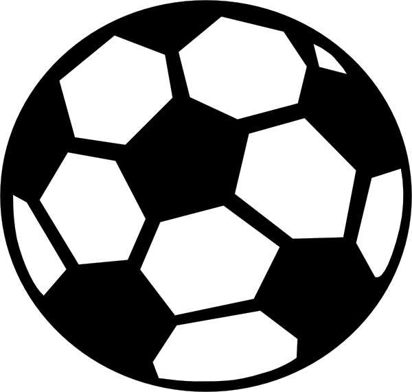 Soccer ball clipart clipartwiz