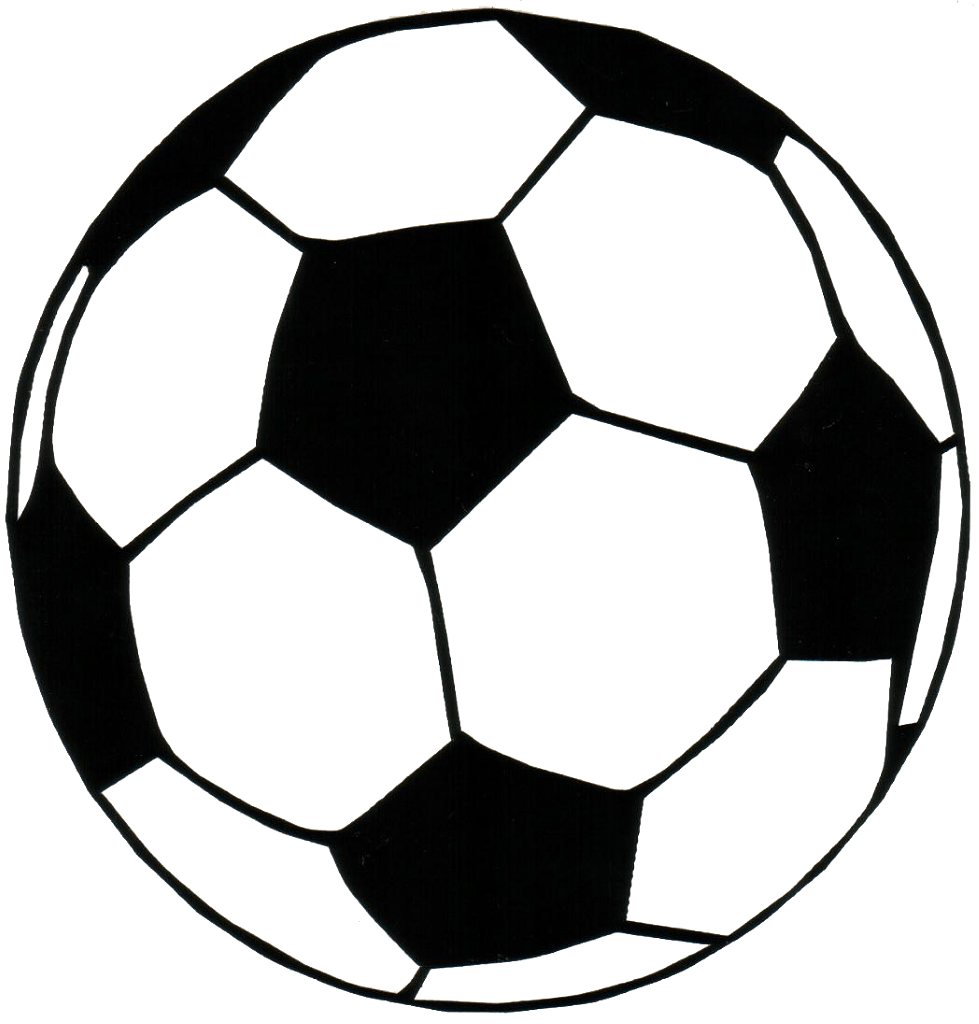 Transparent soccer ball clipart 2