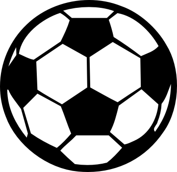 Soccer ball sports balls clipart clipartcow