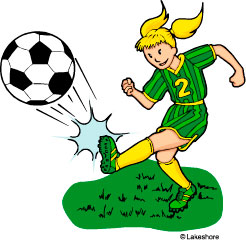 Soccer game clipart free clipart images