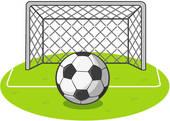 Soccer Goal Net Clip Art View Valueclips Clip Art