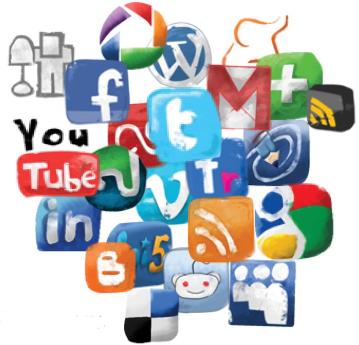 Social Media Clipart Social Media Clipart Free Clipartme Fee