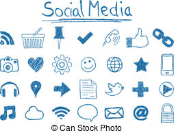 . Hdclipartall.com Social Media Icons - Illustration Of Social Media Icons,.