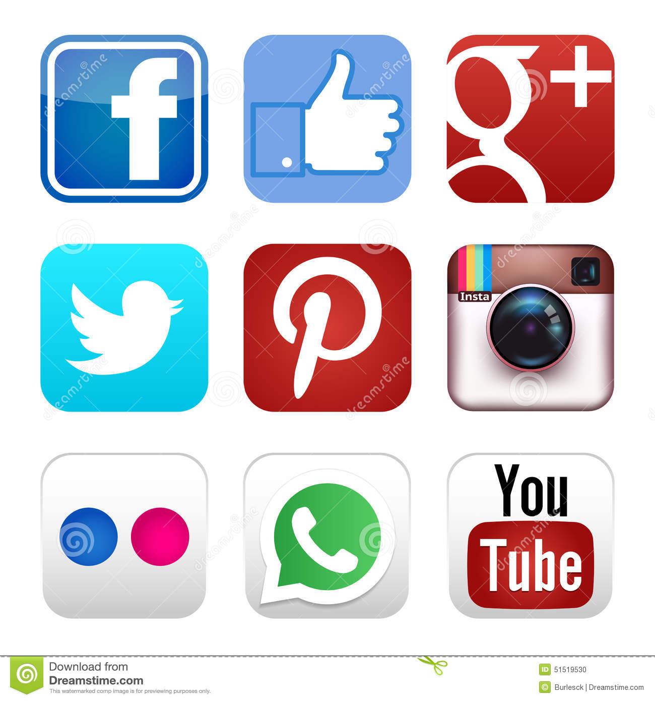 social media clipart 5