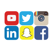 Social Media Png File PNG Image