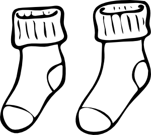 Sock Clipart   Free Download Clip Art   Free Clip Art   on Clipart .