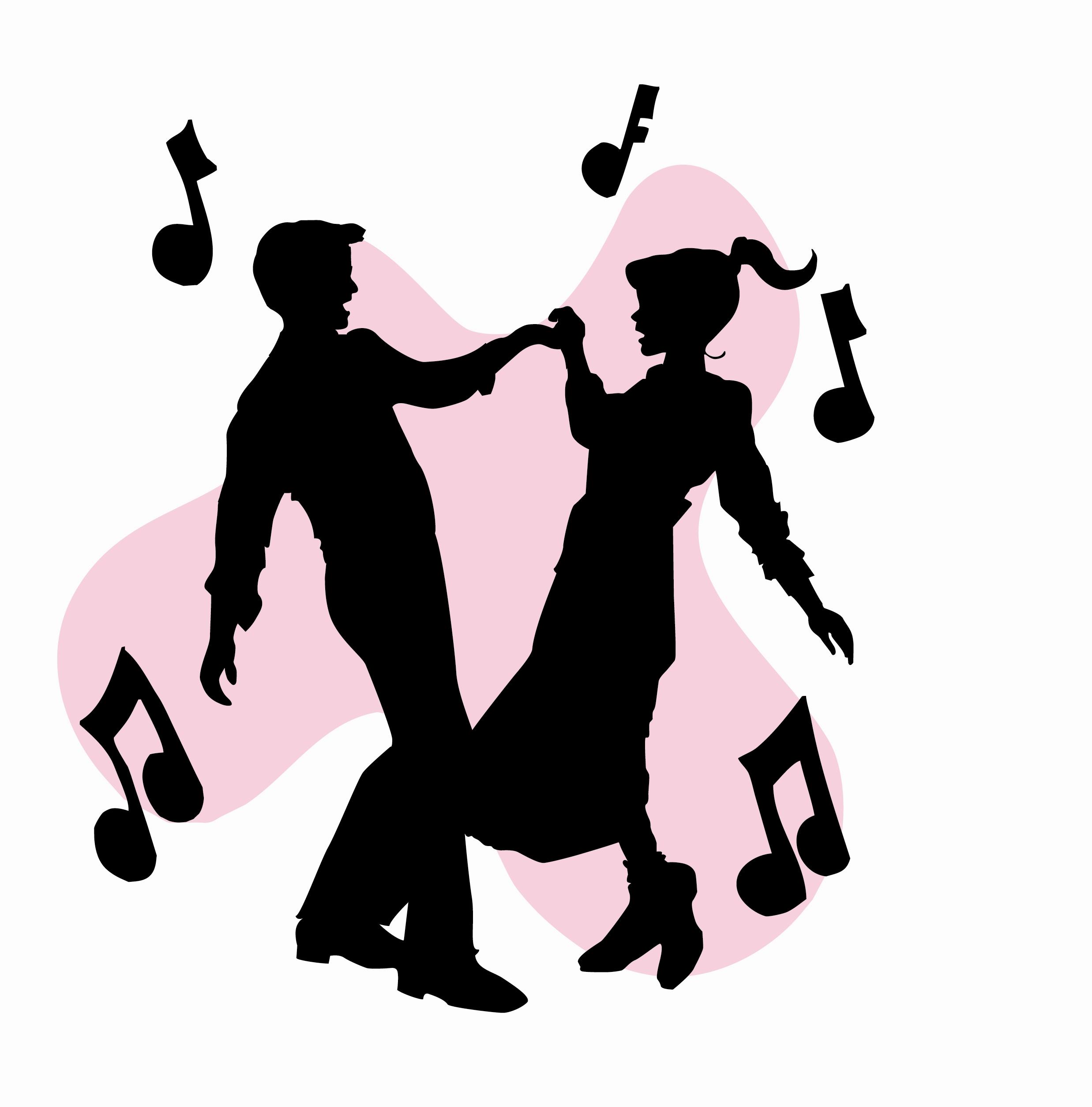 Sock Hop Dance Free Clipart #1