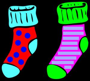 Socks red sock clip art red sock image image