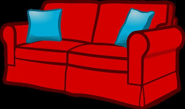 Sofa Clipart-Clipartlook.com-640