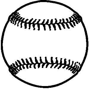 Softball ball clipart free clipart images 2