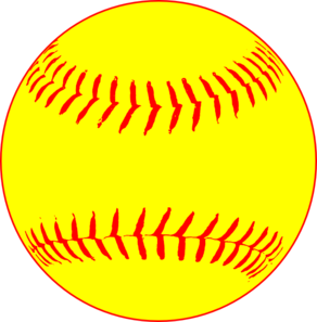 Softball clip art logo free clipart images