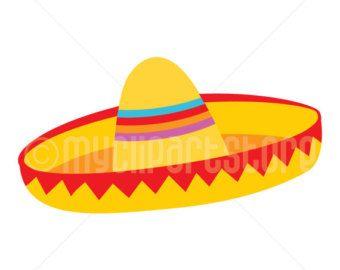 sombrero clipart - Google Search