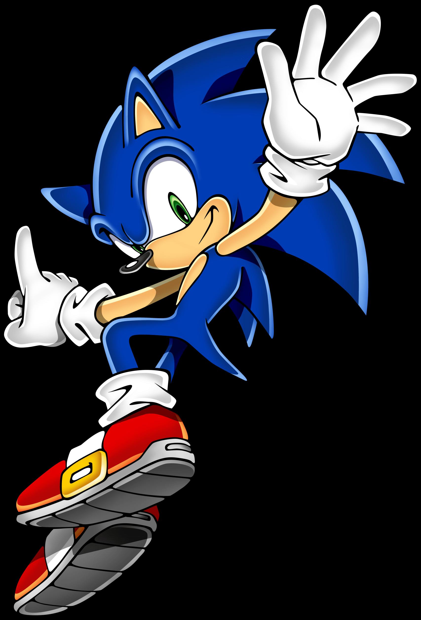 Sonic Hedgehog Jumping