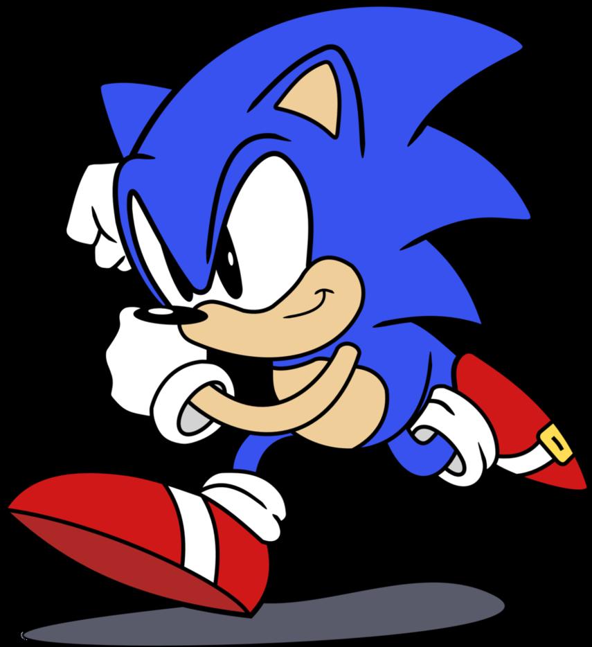 Sonic the Hedgehog Classic by RainDashy ClipartLook.com