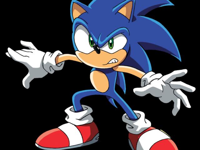 Sonic The Hedgehog Clipart clip art