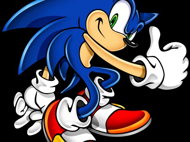 Sonic The Hedgehog Clipart transparent