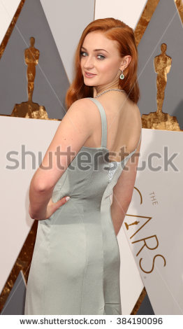 LOS ANGELES - FEB 28: Sophie Turner at the 88th Annual Academy Awards -  Arrivals
