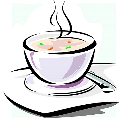 Bowl Of Soup Clipart #1
