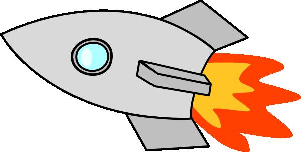 Spaceship clipart 2