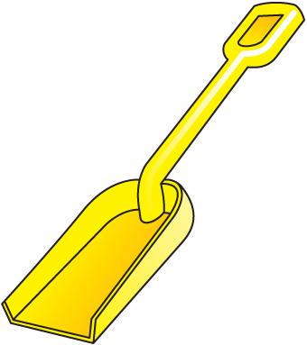 Sand clipart spade #7