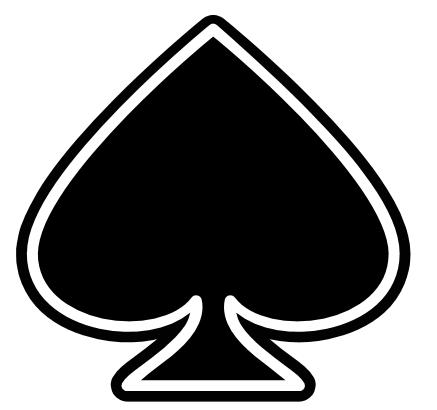 Symbol Clipart Spade #5