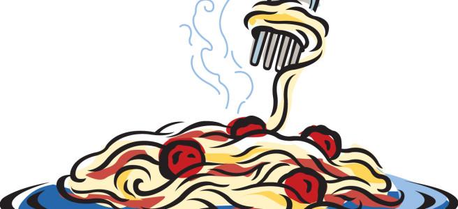 Spaghetti community meal st matthew church clipart