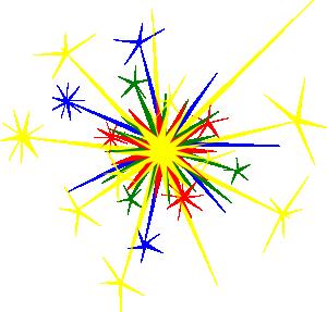 Animated Sparkle Clipart #1