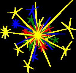 Multicolored Sparkle