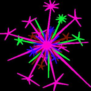 Plum sparkle clipart
