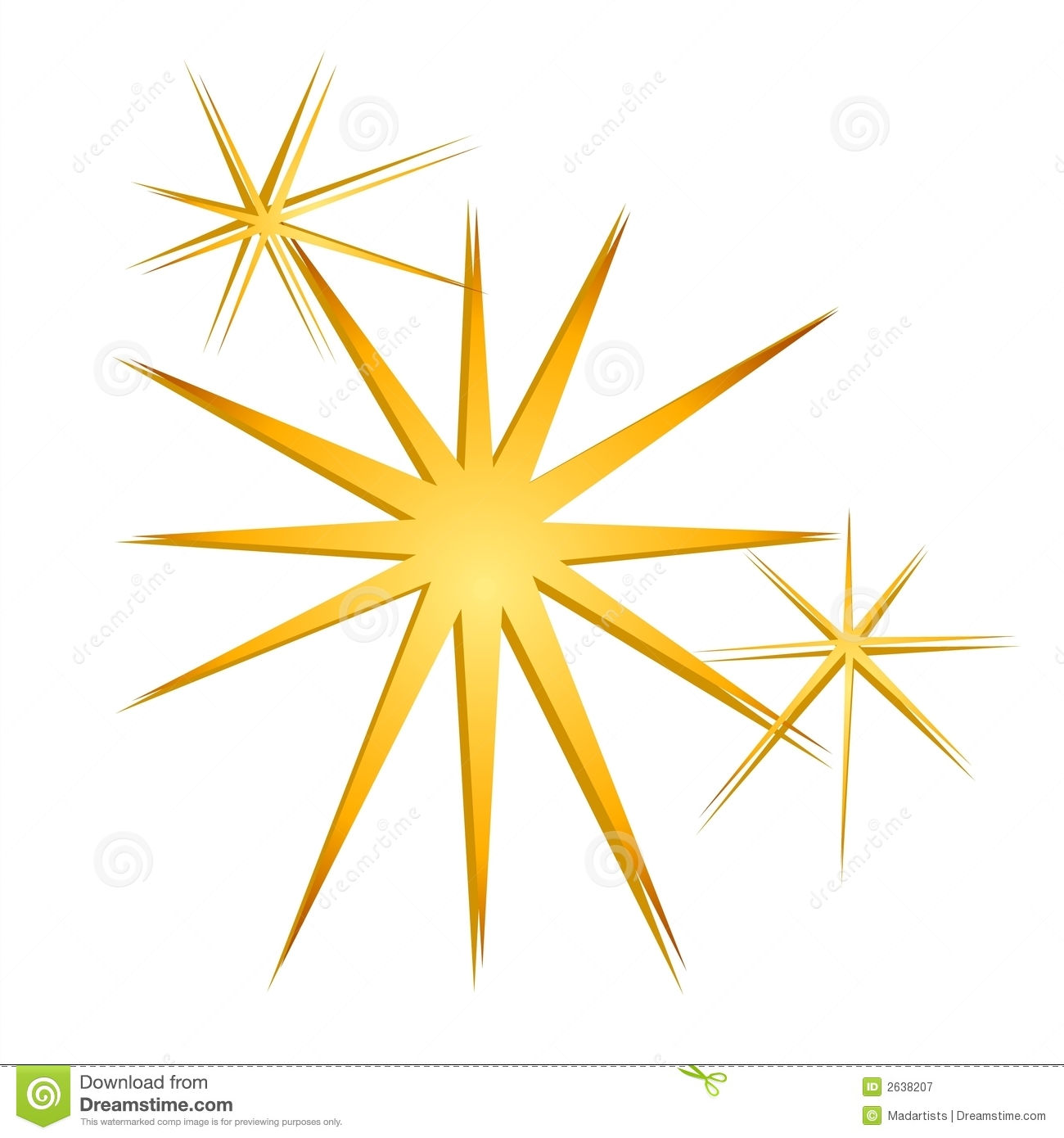 Sparkle Glitter Graphics Clipart #1